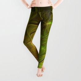 Hope, Abstract Fractal Art Leggings