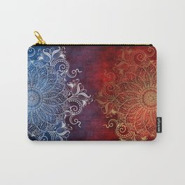 Mandala - Fire & Ice Carry-All Pouch