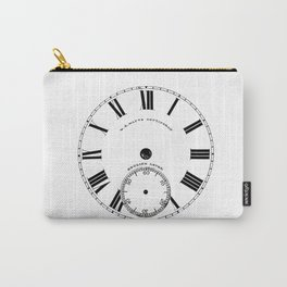 Time goes by vintage clock Carry-All Pouch