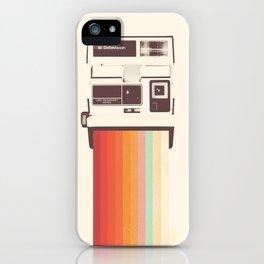 Instant Camera Rainbow iPhone Case