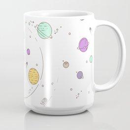 Pastel Planets Coffee Mug