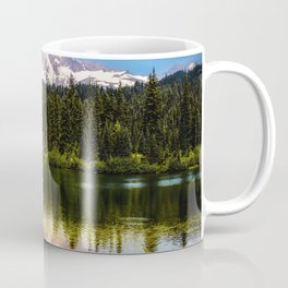Mt. Rainier, Reflection Lake Coffee Mug