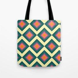 Retro Pattern VII Tote Bag