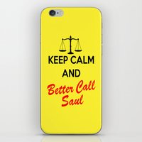 better call saul iPhone & iPod Skins featuring Better Call Saul by DeBUM