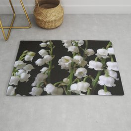 lilly of the valley 5 Rug