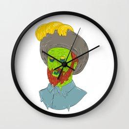 Marquis Conquistador Grime Art Wall Clock
