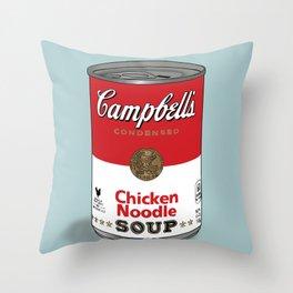 Chicken Soup Throw Pillow