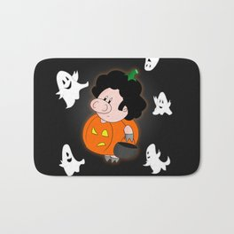 Halloweenie Bath Mat