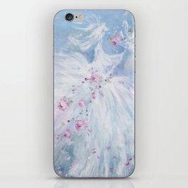 Tutus' in Aqua iPhone Skin