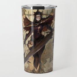 Iron Inquisitor Kayle Cursed Revenant Nocturne Black Scourge Singed League Of Legends Travel Mug