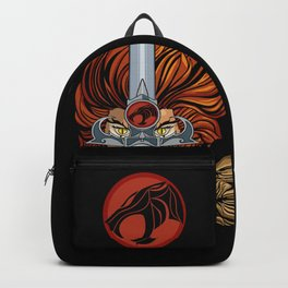 The lion warrior Backpack