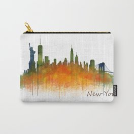 New York City Skyline Hq V02 Carry-All Pouch