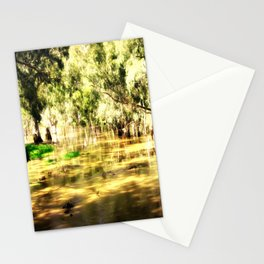 Flooded Plains Stationery Cards