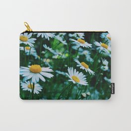 Daisies in bloom Carry-All Pouch