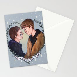 I saw you on the first day of school Stationery Cards