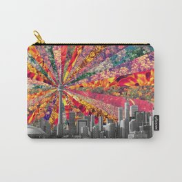 Blooming Toronto Carry-All Pouch
