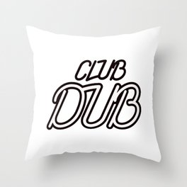 Chicago Bear Club Dub Throw Pillow