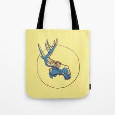 Deer Skull Tote Bag
