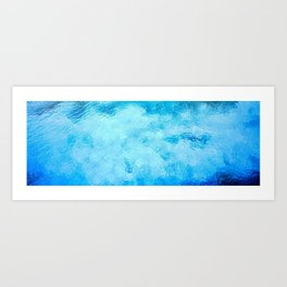 Caribbean Turquoise Sea Art Print