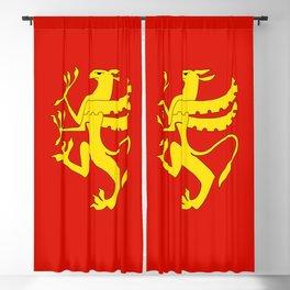 flag of troms Blackout Curtain
