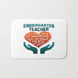 Kindergarten Teacher Bath Mat