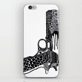Flower Gun  iPhone Skin