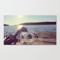 dock days Canvas Print