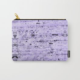 lavender ice cream granite stone rustic ambient decor Carry-All Pouch
