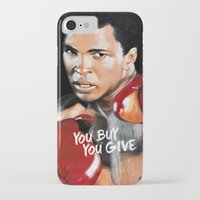 ali gulec iPhone & iPod Cases featuring ALI 4 by YBYG