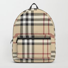 red line patter Backpack