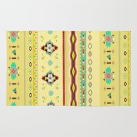 southwest Area & Throw Rugs featuring southwest by studiomarshallarts