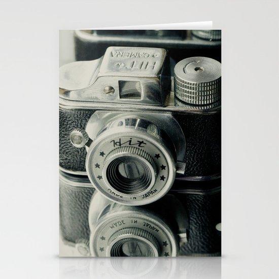 Hit Vintage camera Stationery Cards