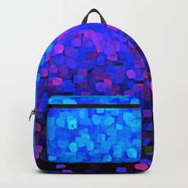 Sparkles Glitter Blue Backpack