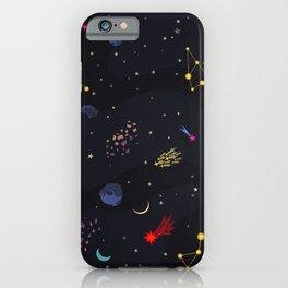 night galaxy iPhone Case
