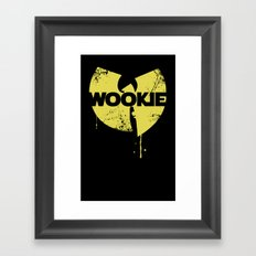 Nothing to mess with Framed Art Print