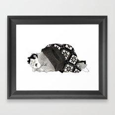 Let Me Be Weak. Framed Art Print