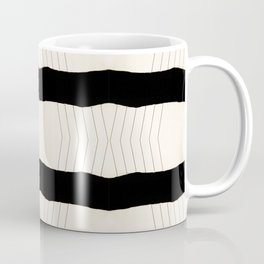 Paper Page Ripped Scan Lines Coffee Mug