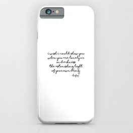 The astonishing light of your own being - Hafiz iPhone Case