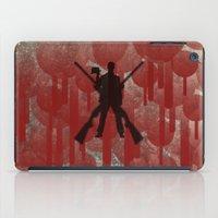 cowboy iPad Cases featuring cowboy by Saleem007