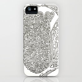 Wait and see iPhone Case