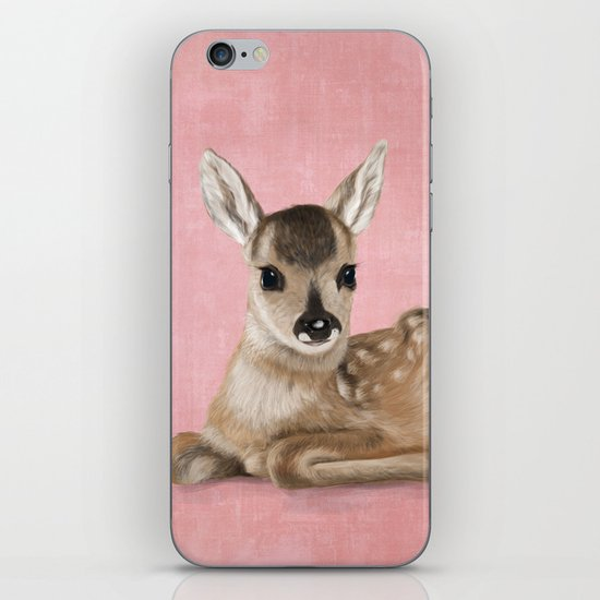 Small fawn iPhone & iPod Skin
