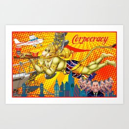 Corpocracy Art Print