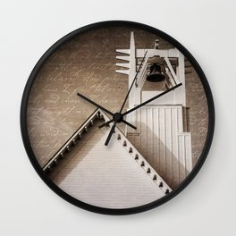 Seaside Steeple (Amazing Grace) Wall Clock