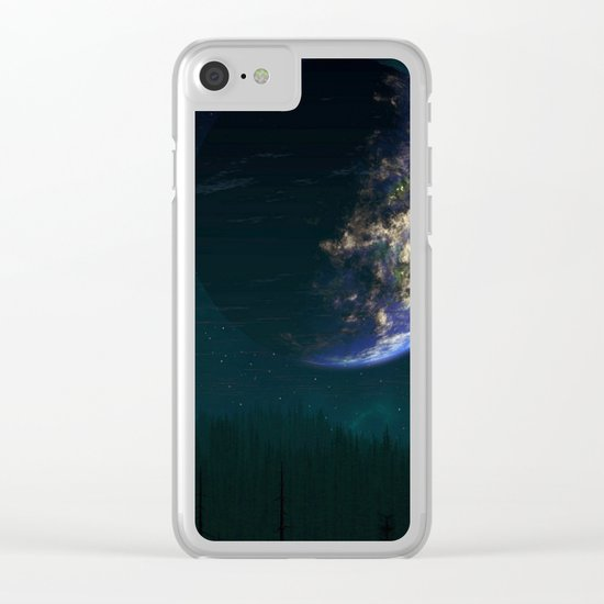 Out of this world #forest Clear iPhone Case