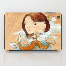 double you waves iPad Case