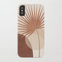 Tropical Leaf- Abstract Art 20 iPhone Case