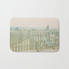 Beach Cruiser Bicycle Bath Mat