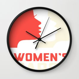 Women's March on Washington 2017 Official Wall Clock
