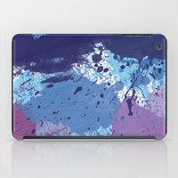splatter iPad Cases featuring Splatter by initiale