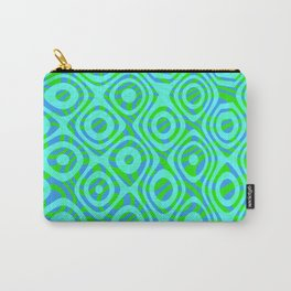 Mixed Polyps Green - Coral Reef Series 037 Carry-All Pouch
